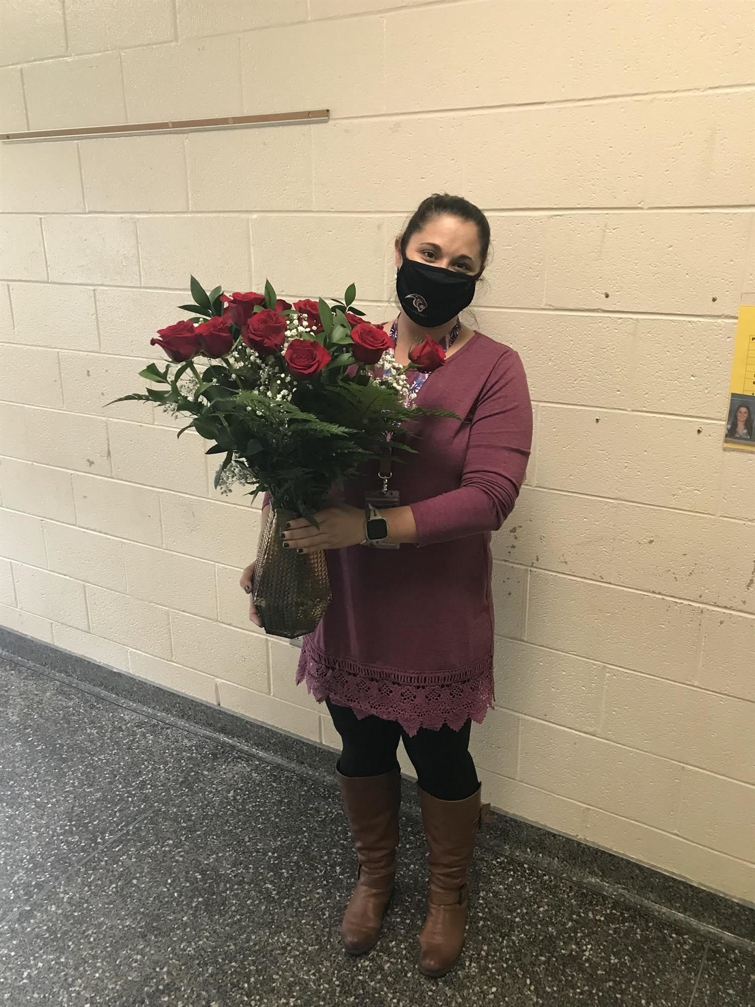 Pelion Middle School's 2020 Teacher of the Year