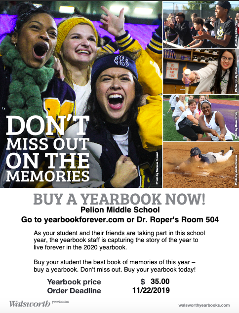 Buy a Yearbook Now