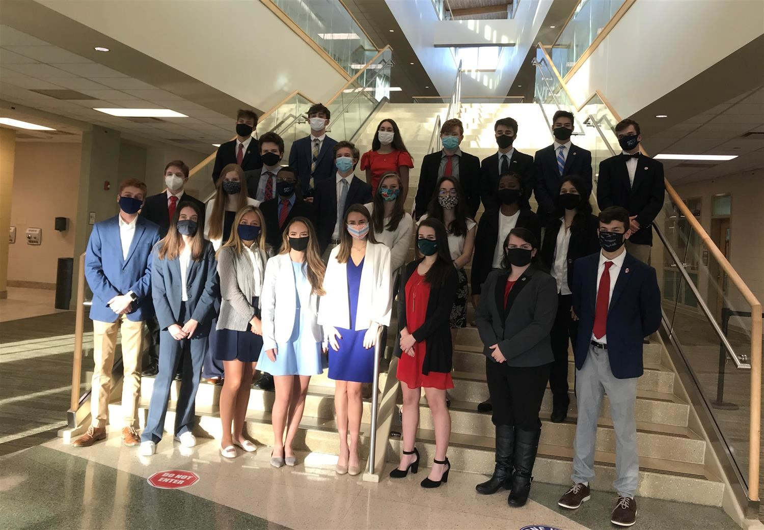 "River Bluff Students Sweep ""We The People"" State Competition"