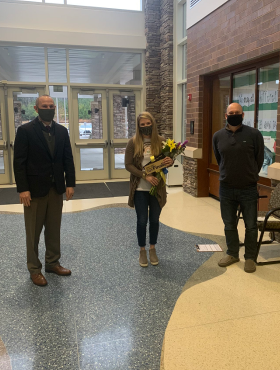 Congratulations!!!  Rocky Creek is proud to announce our very own 4K teacher Mrs. Mary Jane Britt was named as a finalist for the Lexington School District One Teacher of the Year!!!