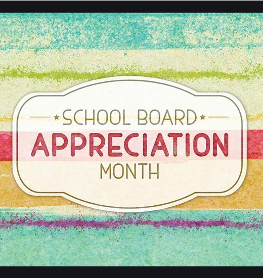 January 2021 is school board recognition month